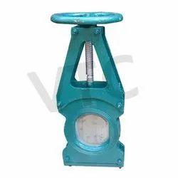 VTC Cast Iron Pulp Valve Hand Wheel Operated, Model Name/Number: Pulpv, Size: 2