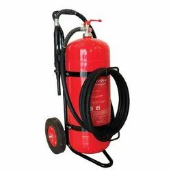 Mild Steel Dry Chemical Powder BC Type Fire Extinguisher, Capacity: 25 kg