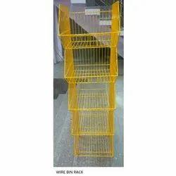 Wire Bin Rack