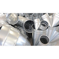 GI Round Ducting for Industrial Use
