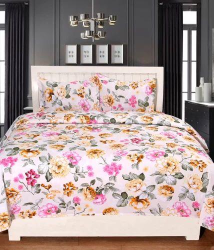 Pure Cotton Printed Modern Scottish Bed Sheet Set
