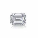 Emerald Diamond 5.00ct F VVS2 CVD TYPE2A IGI Certified