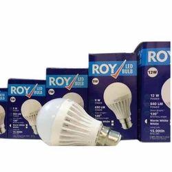 PP Natural White Roy LED Bulb, 5000-6500 K, 12 Watt