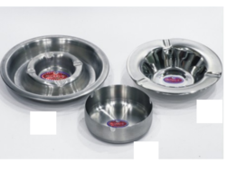 Stainless Steel Round Ashtray