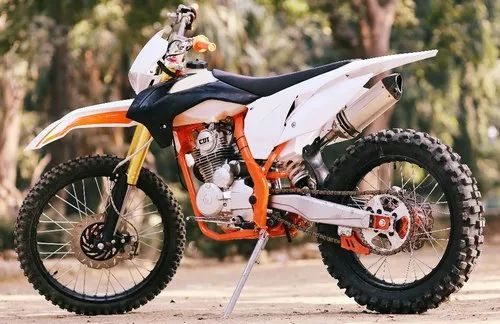 75e699222fa Black White Orange Phoenix Monster 200 Dirt Bike Motocross, Vehicle Model:  2019