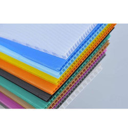 Rectangular PP Corrugated Sheet