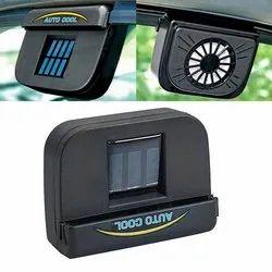 Plastic Car Solar Fan