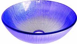 Blue Glass Wash Bowl