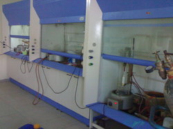 Chemical Laboratory Fume Hood Bench