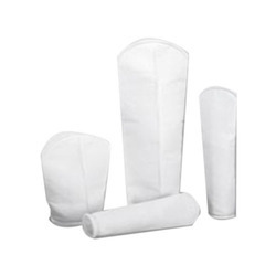 White Synthetic Fiber Accufit Filter Bag, for Liquid Filter
