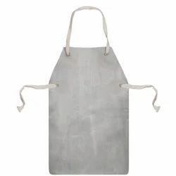 Cotton Plain Leather Apron