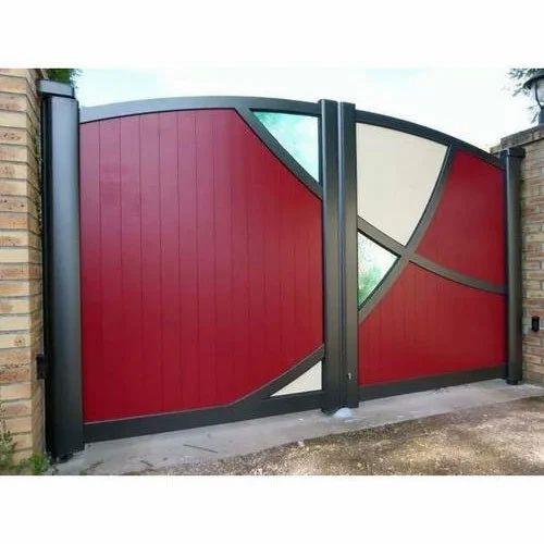 Home Design Gate Ideas: धातु से बना गेट