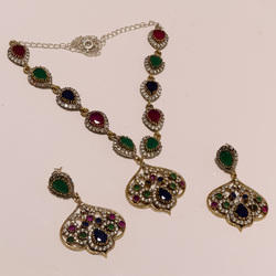 Designer Turkish Pendant Set