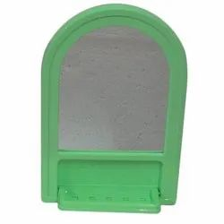Pink Blue Green Cream Red Decorative 7x10 Inch Galaxy Plastic Bathroom Mirror, For Home Hotel Office
