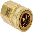 Quick Release Coupling Brass Snap Tite Type, Size: 1/2 Inch, For Structure Pipe