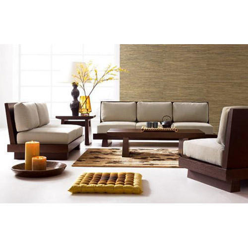 Brown Wooden Sofa Set 321 Rs 55000 Set Shree Dev International