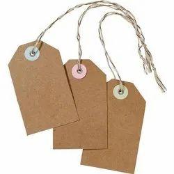 Kraft Paper Hang Tags, For Garments