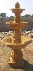 Golden Stone Fountain