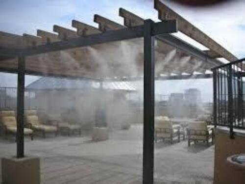 Outdoor Misting System - High Pressure Misting/ Cooling System Manufacturer from Delhi