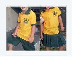 Yellow School Uniform