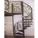 Stairs Elegant Iron Railing For Home & Hotels, Height: Up To 4 Feet, Surface Treatment: Galvanized
