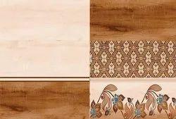 SakarMarbo Multicolor Ceramic Digital Wall Tile 138it_hl - 450X300 for Hotel