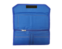 Cheque Book Holder Cloth (Blue)