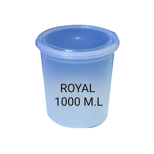 Transparent 1000ml Plastic Food Containers