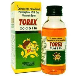 Torex Cough Syrup, Size: 100 mL