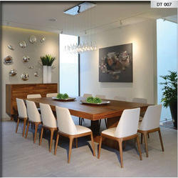 Mayuri International Wooden Dining Table And Chairs