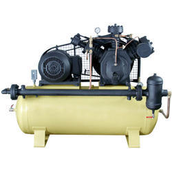 Reciprocating Compressors With 5 HP - 500 HP Horse Power & 250 bar Discharge Pressure
