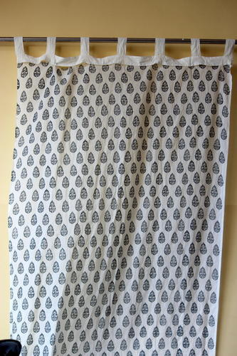 Block Printed Curtain Mudrit Parda