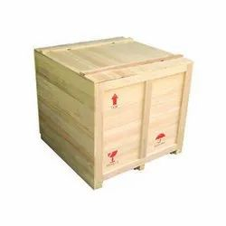 Wood Wooden Packing Case, Dimension/Size: 18.9 X 18.8 X 9.2 Cm, Capacity: 1-200 Kg