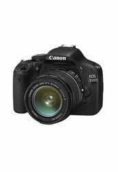 Canon Black and eos 550d 18mp dslr camera rental service