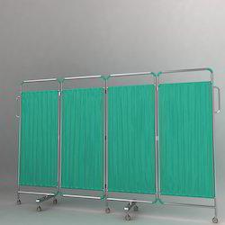 Plain Green Hospital Curtain
