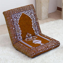 Kawachi Relaxing Buddha Meditation And Yoga Chair With Back Support Memory Foam Seat Cushion Floor
