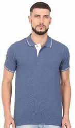 Collar Type Mens T Shirts