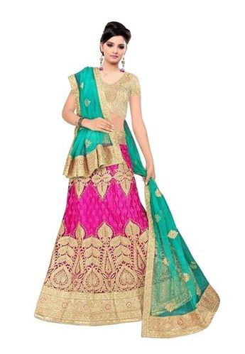cb99695691c78 Fancy Colored Lehenga With Choli And Dupatta at Rs 4599  piece ...