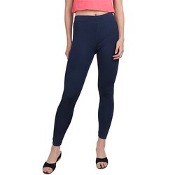 Ladies Navy Track Pant