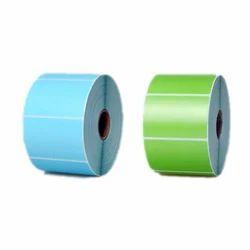 Multi Color Barcode Label