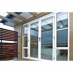 Aluminium Double Door, For Office