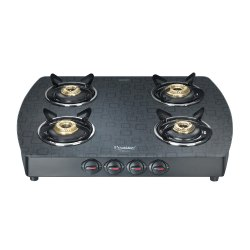 Premia SCHOTT Glass Top Gas Stove