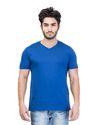 Cotton Men''s Solid V-Neck T-Shirt