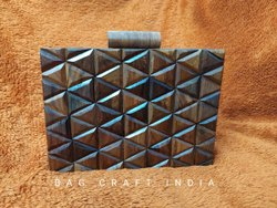 Wooden Clutch Box