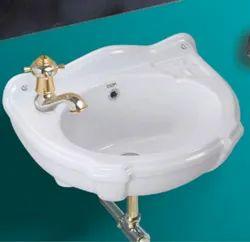 White Sorona Apple Small Washbasins