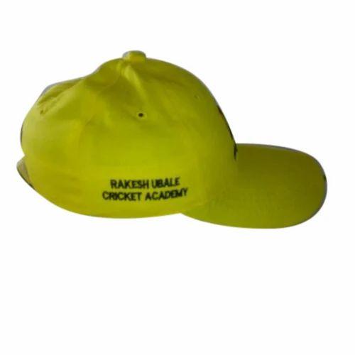2e28db8d382 Yellow Men  s Cap