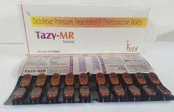 Diclofenac, Paracetamol, Chlorzoxazone Tablet