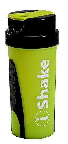 I Shake Green Ronnie Shaker Bottles, Capacity: 600 Ml, Packaging Type: Carton Package