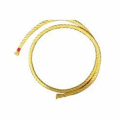 Yellow Twisted Nylon Rope