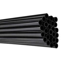 Black Electrical Conduit Pipe